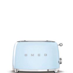 50's Retro Style Aesthetic 2 Slice Toaster Pastel Blue