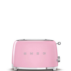 50's Retro Style Aesthetic 2 Slice Toaster Pink