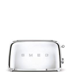 50'S Retro Style Aesthetic 4 Slice Toaster