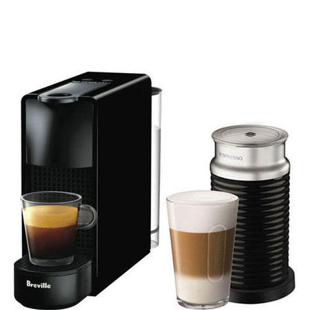 Essenza Mini with Milk Frother - Black