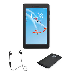 Tab E7 Tablet with and Box Smartphone Charger Bundle