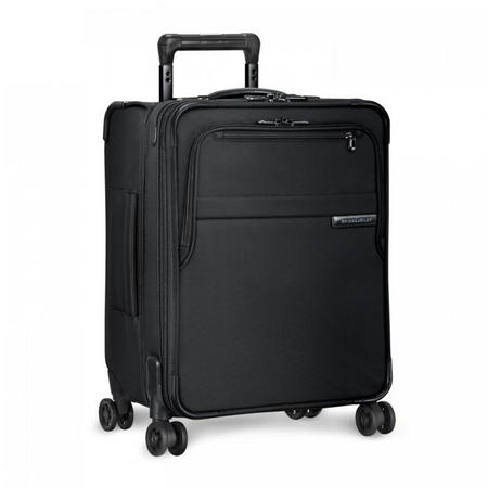 International Carry-On Expandable Wide-Body Spinner Baseline 47 cm Black