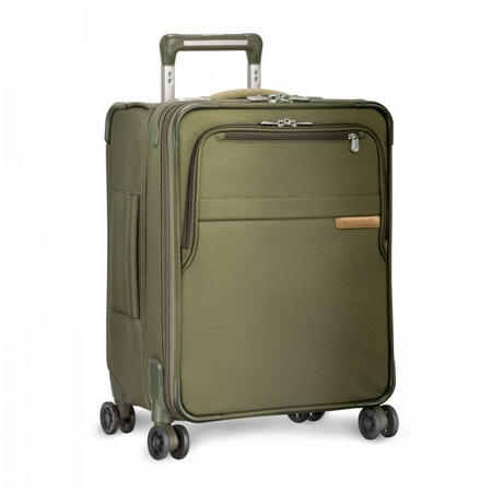 International Carry-On Expandable Wide-Body Spinner Baseline 47 cm Olive