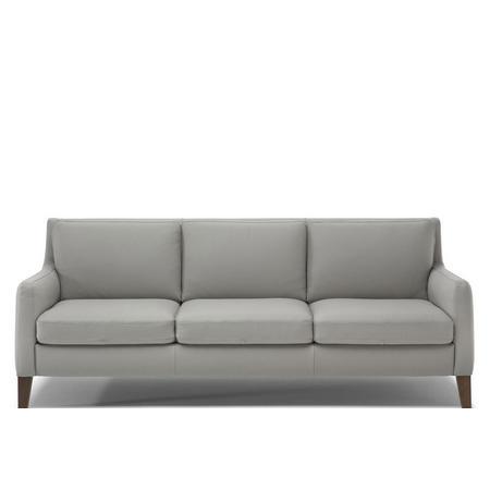C009 Quiete Large Fabric Sofa 70.2077.07 Light Grey