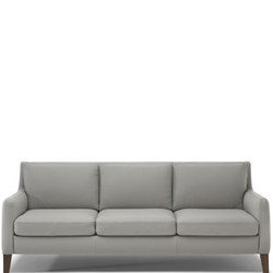 C009 Quiete Large Fabric Sofa 70.2077.07 Light Grey