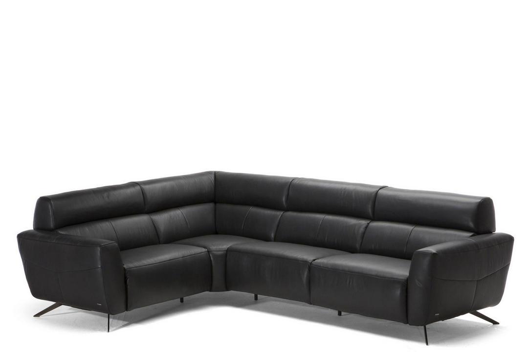 C013 Sorpresa Leather Corner Group LHF 10BU Black