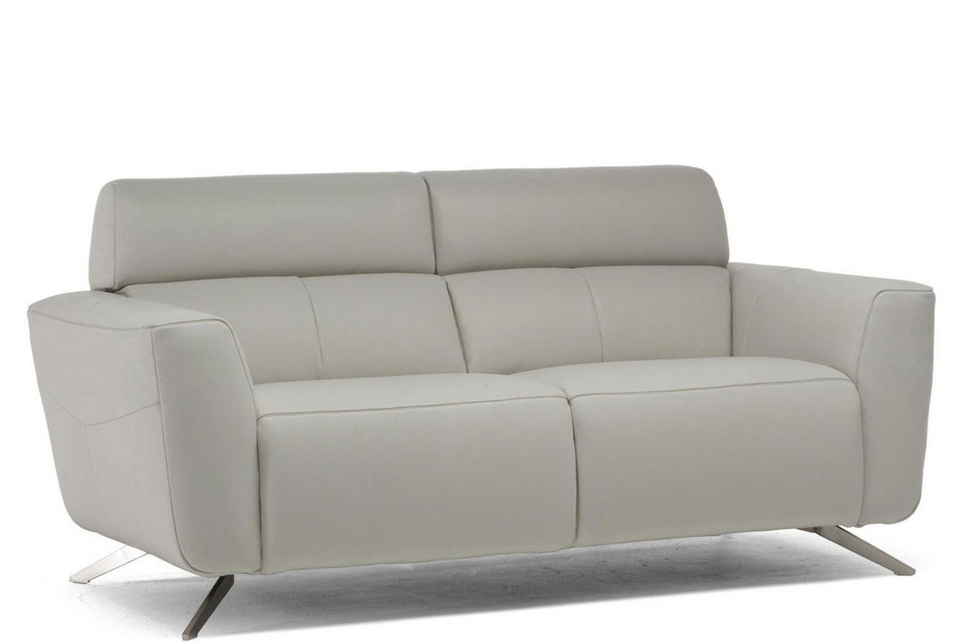 C013 Sorpresa Leather Split Sofa 1582 Grey