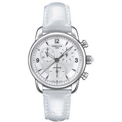 DS Podium Ladies Chronograph Watch White
