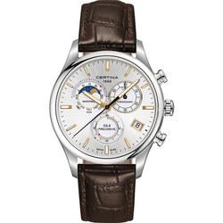 DS-8 Chronograph Moon Phase Watch Brown