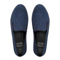 Superskate Snake-Embossed Navy