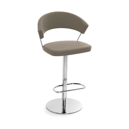 New York Adjustable Stool Taupe