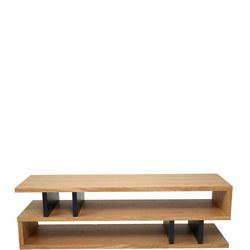 Counter Balance Coffee Table Oak/Charcoal