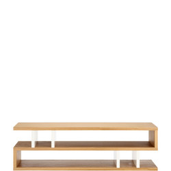Counter Balance Coffee Table Oak/White