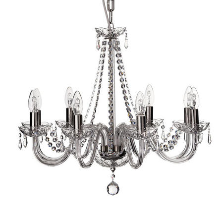 Living Galway Crystal Cashel 8 Arm Chandelier