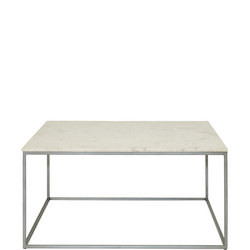 Chelsea Square Coffee Table Marble Finish