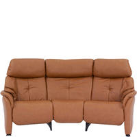 Chester Three-Seater Round Sofa With Cumuly Function Cognac