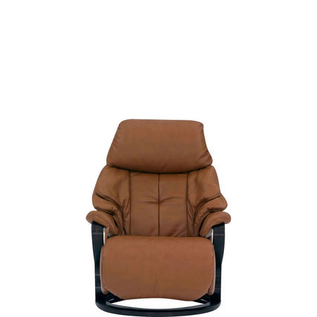Chester Small Swivel Recliner Chair Cognac