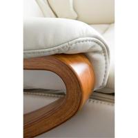 Chester Small Swivel Recliner Chair Cognac
