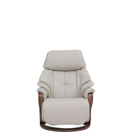 Chester Small Swivel Recliner Chair Lava