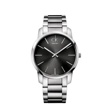 City Unisex Swiss Watch Cool Grey