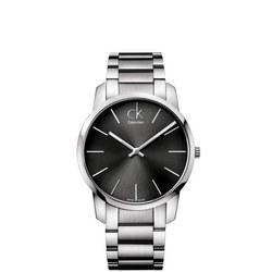 City Unisex Swiss Watch Cool Grey