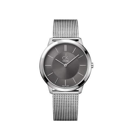 Minimal Unisex Swiss Watch Cool Grey