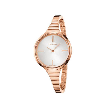 Lively Watch Rose Gold With Silver Dial