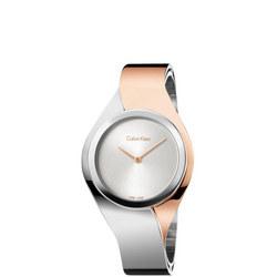 Senses Watch Silver/Rose Gold Medium