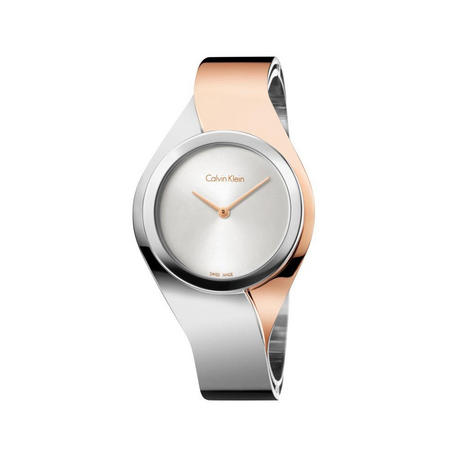 Senses Watch Silver/Rose Gold Small