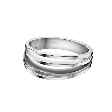 Breathe Bangle Stainless Steel