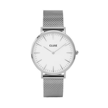 La Boheme Mesh Silver/White