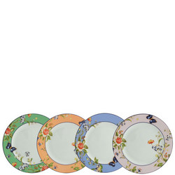 Cottage Garden Plates (Set of 4) - Mixed