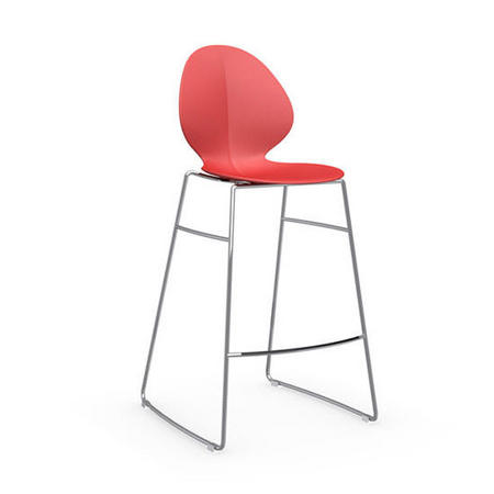 Basil Stool Red