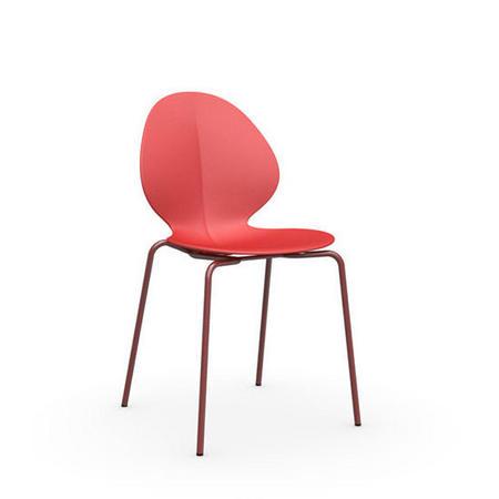 Basil Chair Matt Red X 2