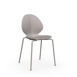 Basil Chair Matt Taupe X 2