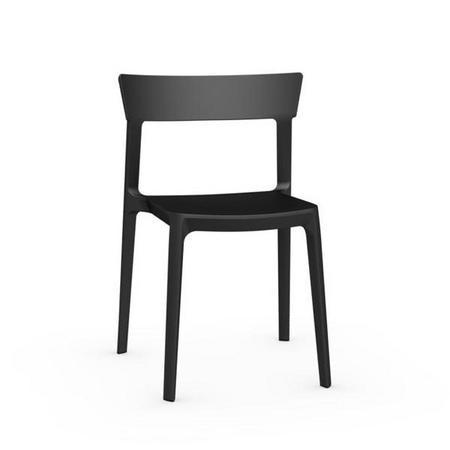 Skin Chair Set Of 4 Black
