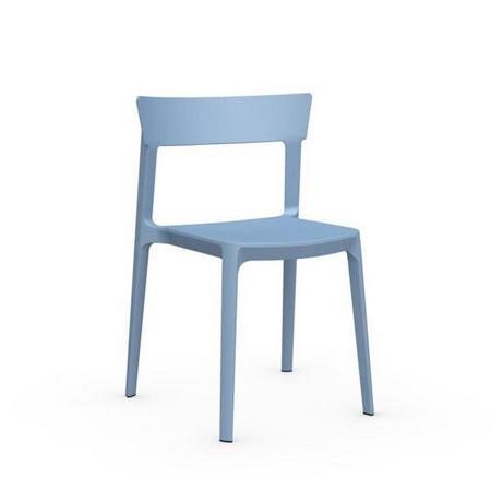 Skin Chair Set Of 4 Sky Blue