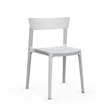 Skin Chair Set Of 4 White