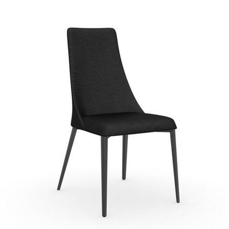 Etoile Dining Chair Set of 2 Matt Black