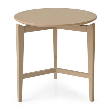 Symbol Round Coffee Table White