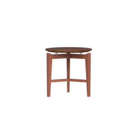 Symbol Round Coffee Table Walnut