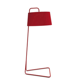 Sextans Lamp Red
