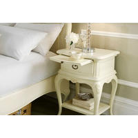 Ivory Single Bedside Chest
