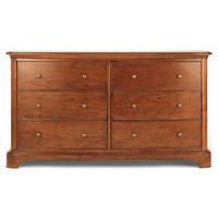 Lille Wide 6 Drawer Chest