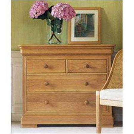 Lyon Low 2+2 Drawer Chest