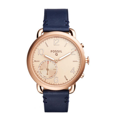 Wearables Q TAILOR Watch Navy/Rose Gold