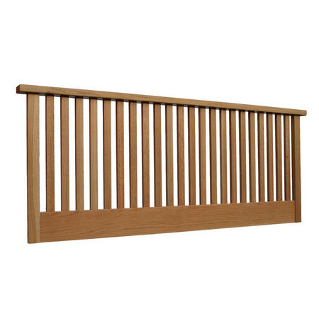 Bali King Size Headboard in Oak