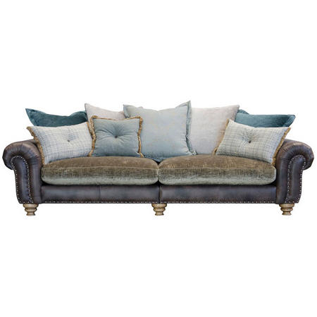 Bloomsbury Pillow Back Grand Split Sofa