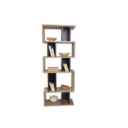 Counter Balance Alcove Shelving Oak/Charcoal