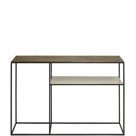 Fera Console Table and Shelf